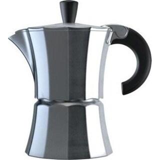 Morosina Express Stovetop Espresso Maker Aluminum Measures - 3 Cup