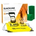 Driftsun Sports Slackline Complete Kit - 50FT Classic Slacklining Line with Training Line and Tree Guards - Thumbnail 0