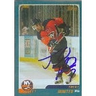 Trent Hunter New York Islanders 2004 Topps Autographed Card This item comes with a certificate of