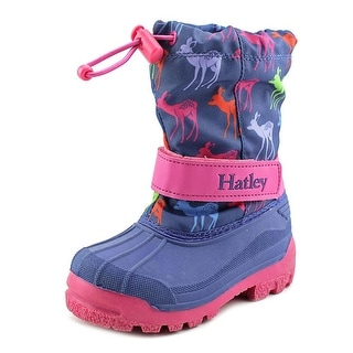 Hatley Graphic Deers EW Round Toe Synthetic Winter Boot