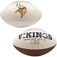 "Minnesota Vikings Embroidered Logo ""Signature Series"" Football"