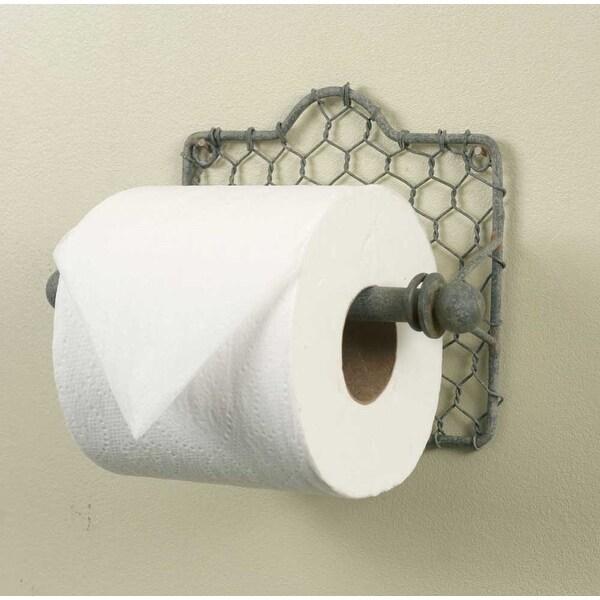 Chicken Wire Toilet Paper Holder -2Pack