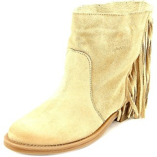 Coolway Naomi Women  Round Toe Suede Tan Ankle Boot