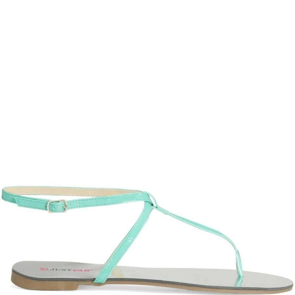 Just Fab Womens Evi Open Toe Casual Strappy Sandals - 8