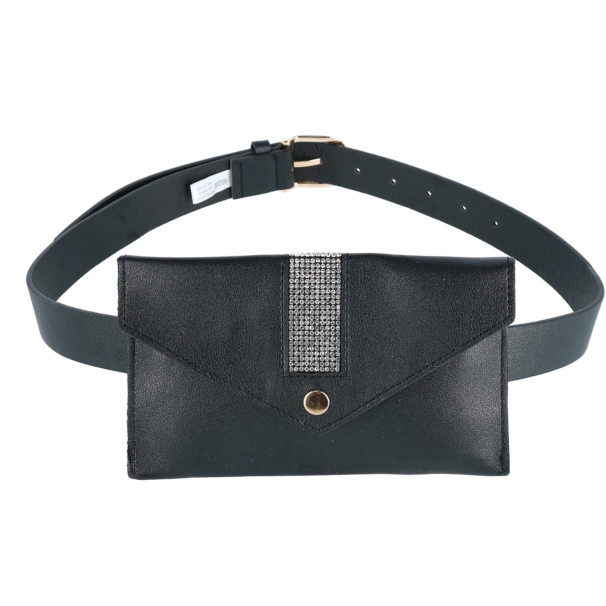 Ctm Rhinestone Studded Fashion Waist Pack Belt Bag One Size