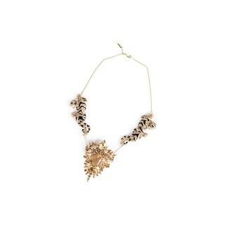 Cavalli Womens Swarovski Crystal Tiger Necklace