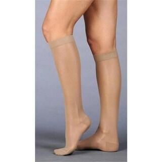 Juzo 2101ADFFSH14 IV IV Naturally Sheer Knee High Stockings - Beige