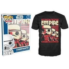 Funko Pop Black Star Wars Stormtrooper Emp T-Shirt