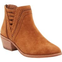 Vince Camuto Women's Pimmy Bootie Cocoa Bear True Suede