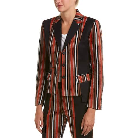 French Connection Dovie Stripe Blazer