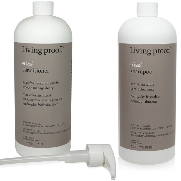Living Proof No Frizz Shampoo & Conditioner 33.8 Oz/ Each