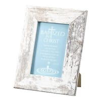 4 x 6 in. Baptized in Christ Tabletop Photo Frame, Acts 2-38