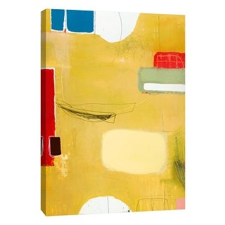 """PTM Images 9-108469  PTM Canvas Collection 10"""" x 8"""" - """"Aspect #1"""" Giclee Abstract Art Print on Canvas"""