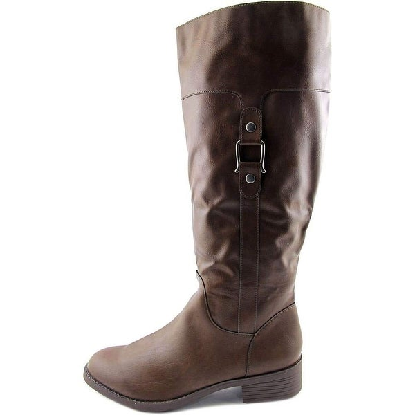 Style & Co. Womens Astarie Closed Toe Mid-Calf Fashion Boots - 9.5