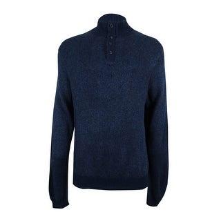 Polo Ralph Lauren Men's Silk Sweater (XXL, Navy Birds) - navy birds - XxL