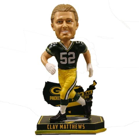Green Bay Packers Clay Matthews Matthews C. #52 Nation Bobble - Multi