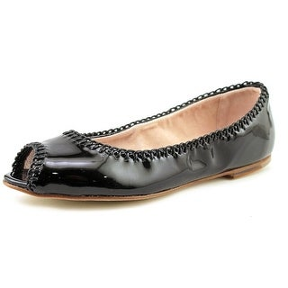 Bloch Victoire Women  Round Toe Patent Leather Black Ballet Flats
