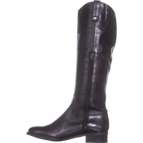 INC International Concepts Womens Fawne Leather Closed Toe Over Knee Fashion ...