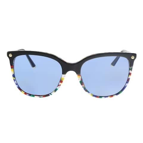 Dolce & Gabbana DG4333 318172 Black Square Sunglasses - 55-18-140