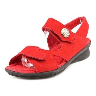 Spring Step Divertente Women Open-Toe Leather Fisherman Sandal
