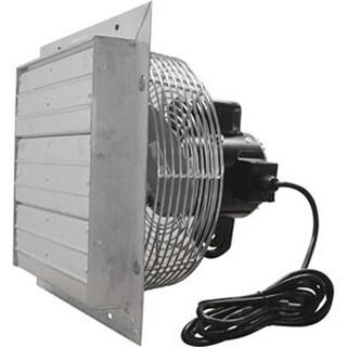 ValuTek Direct Drive Exhaust Fan w/Shutters 12 -