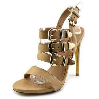 C Label Olive-17 Women Open Toe Synthetic Tan Sandals