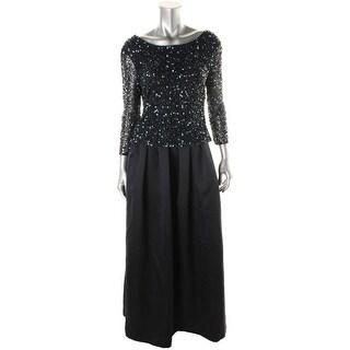 Patra Ltd Womens 2 Piece Shear Evening Dress - 12