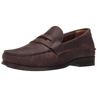 Sebago Mens Conrad Penny Loafers Leather Slip On