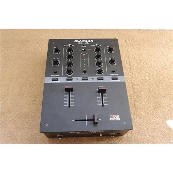 DJX DIF2SGREY 2 Channel Dj Scratch Mixer, grey