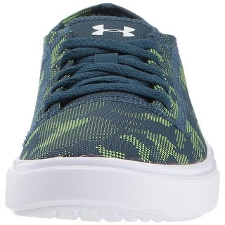 Kids Under Armour Girls KickIt2 low Low Top Lace Up Skateboarding Shoes
