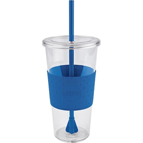 Copco Insulated BPA Free Tritan To Go Cup with Lid and Straw