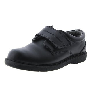 School Issue Boys Scholar Leather Oxfords - 8.5 wide (e)