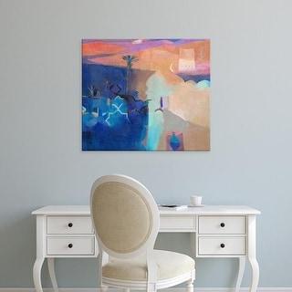 Easy Art Prints Gerry Dudgeon's 'Door to the Kasbah' Premium Canvas Art