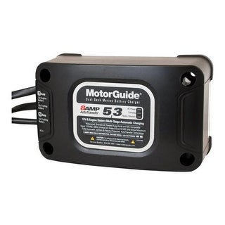 MotorGuide 31708 5/3 8 Amp Dual Bank Battery Charger