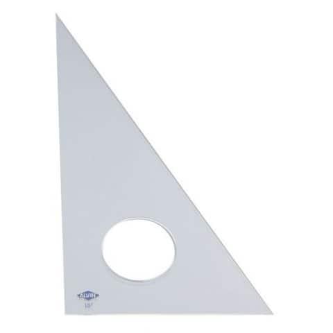 Alvin Clear Professional Acrylic Triangle - 30 deg/60 deg