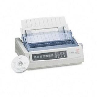 Okidata - Ml390tn - Mono - Dot-Matrix Printer - 24-Pin Printerhead - Network - Up To 390 C