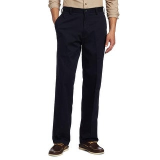 Link to IZOD Mens Pants Solid Navy Blue Size 40x32 American Chinos Classic Fit Similar Items in Big & Tall
