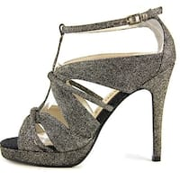 E! Live From The Red Carpet Womens Marilynn Open Toe Ankle Strap D-orsay Pumps - 9.5