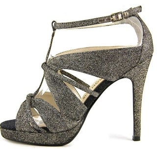 E! Live From The Red Carpet Womens Marilynn Open Toe Ankle Strap D-orsay Pumps