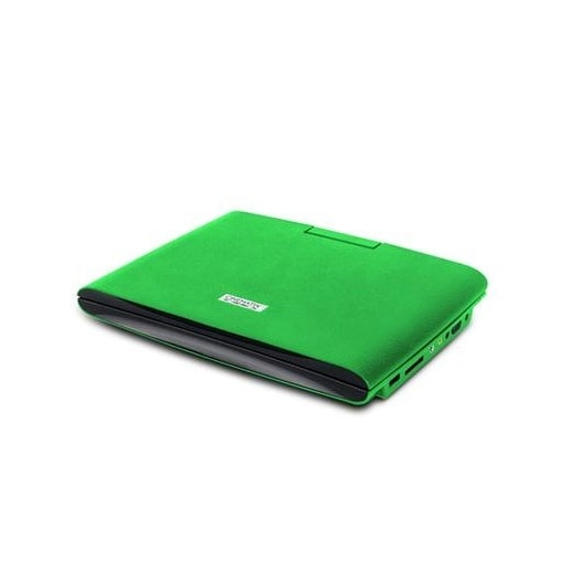 "Pc Treasures 70669-Pg Cinematix 9"" Portable Dvd Player W/ 6+ Hour Battery,Green"