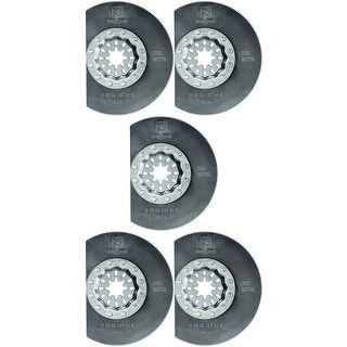 "Fein 63502106230 Oscillating Segment High Speed Steel Circular Saw Blade, 3-3/8"""