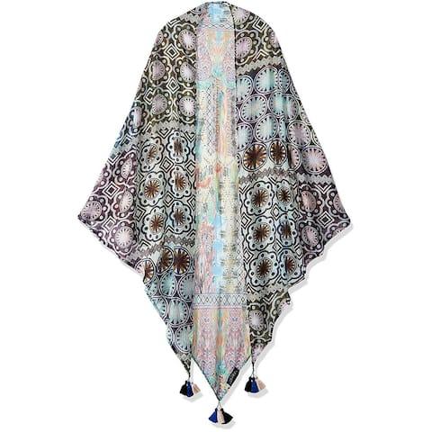 Laundry By Shelli Segal Women Fashion Lightweight Scarves Wrap Shawl