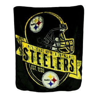 NFL Royal Plush Raschel Throw Blanket 50 X 60 in.