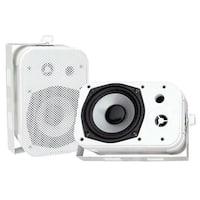 5.25 in. Indoor-Outdoor Waterproof Speakers - White