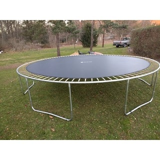 ExacMe 16FT Trampoline w/ safety pad & Enclosure Net & ladder COMBO