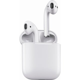 Apple AirPods Wireless Bluetooth In-Ear Headphones - White - 5 X 6 X 0.5