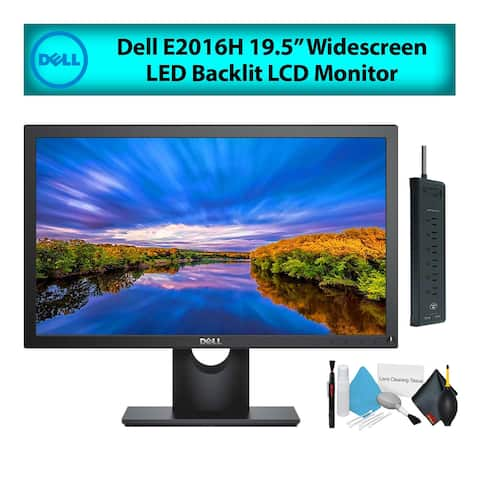 """Dell E2016H 20"""" 16:9 Widescreen LED Backlit LCD Computer Monitor (1-Pack)"""