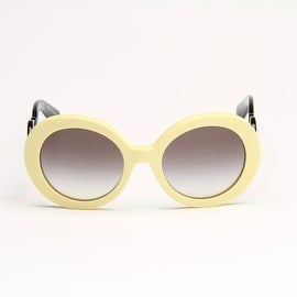 Limited Edition Yellow And Black Minimal Baroque Sunglasses