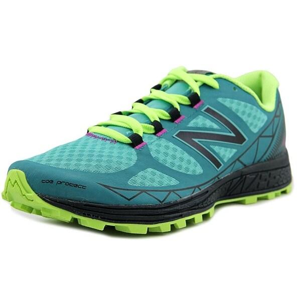 New Balance WTSU Women D Round Toe Synthetic Blue Trail Running