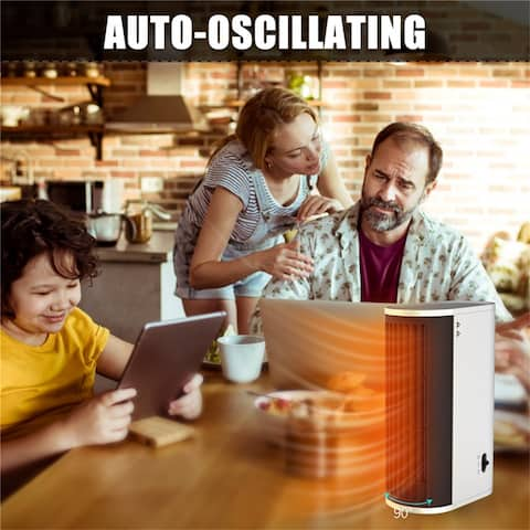 Heat Slim Tabletop Heater,Fast Heat Up,Overheat Protection System